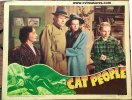 Cat People Horror Movie Poster, 1942 Lobby Card