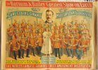 Barnum & Bailey Circus Poster 1895 Carl Clair's Band Strobridge