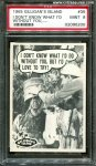 Gilligan's Island PSA 9 High Grade Card #35 1965