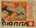 Abbott & Costello Rio Rita - original Title Card - 1942