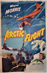 Arctic Flight Vintage Movie Poster one sheet