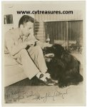 Humphrey Bogart Vintage Autographed Photo