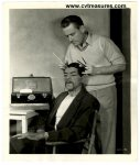 MASK OF FU MANCHU Photo Boris Karloff having Makeup 1932