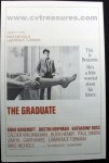 Graduate RARE Embassy One Sheet movie poster 1968