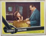 Sunset Boulevard Original Vintage Lobby Card Movie Poster 4