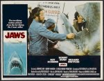 Jaws Original Release lobby card movie poster 1975 4