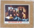 Wizard of OZ Original Vintage Lobby card movie poster bedroom