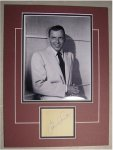 Frank Sinatra PRISTINE Signature Autograph Vintage early 1960s