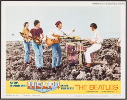 Beatles Original HELP Vintage Lobby Card Movie Poster