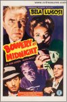 Bowery at Midnight Bela Original Vintage Horror Movie Poster One