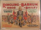 Circus Poster Ringling Brothers