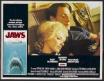 Jaws, 1975 Original Release lobby card movie poster 5