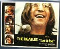 Beatles Let it Be vintage movie posters lobby card, 1970