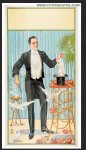 Magician's Magic Stock Poster 1920 Vintage Three SHeet