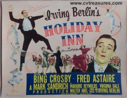Holiday Inn Original Vintage Movie Poster Half Sheet 1942