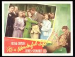 It's a Wonderful Life, James Stewart Lobby Card movie posters 4