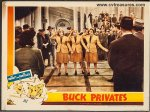 ABBOTT & COSTELLO BUCK PRIVATES VINTAGE LOBBY CARD Andrews