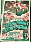 Green Hornet Original Vintage Movie Poster, 1940 Key Luke