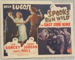 Spooks Run Wild Half Sheet Horror Movie Poster Bela Lugosi