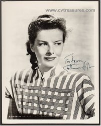 Katharine Hepburn Authentic Autographed Signed Vintage Photo