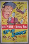Bowery Boys -Up in Smoke- vintage movie poster 1957