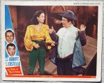 Abbott & Costello The Time of Their Lives lobby card 1946 A