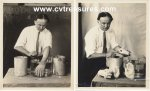 Harry Houdini Historic Photos debunking psychic 1924 1X