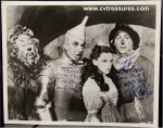 Jack Haley & Ray Bolger Wizard of OZ signed autographed photo