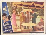Abbott & Costello In Society - original lobby card - 1944