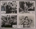 Abbott & Costello Meet the Mummy, 5 original still photos, 1955