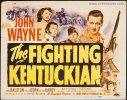 Fighting Kentuckian Original Vintage Title Card Movie John Wayne