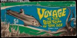 Voyage to The Bottom Of The Sea Vintage Gum Card Box 1964