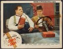 Laurel & Hardy Saps at Sea Original Vintage lobby card 3