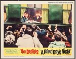 Hard Days Night 1964 Original lobby card movie poster Beatles