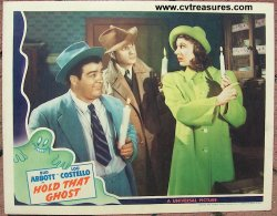 Abbott & Costello Hold That Ghost Vintage Lobby Card Movie Poste