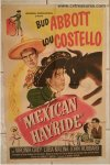 ABBOTT & COSTELLO MEXICAN HAYRIDE, 1948 ORIGINAL ONE SHEET 2