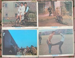 Butch Cassidy and the Sundance Kid lobby cards (4) , 1969