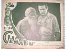 Return of Chandu, 1934 Horror Classic Lobby Card