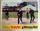 Beatles Hard Days Night, 1964 Original lobby card movie poster 2
