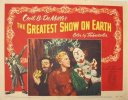 Greatest Show on Earth, 1952 Original portrait lobby card