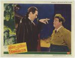 Abbott & Costello Meet Frankenstein, lobby card, Lugosi , 1948