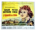 I Thank a Fool, 1962, Susan Hayward, Six Sheet