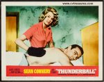 James Bond Thunderball vintage Lobby Card movie poster 1965 3