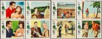 Dr No James Bond Vintage Complete Lobby Card Set Sean Connery 62