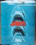 Jaws Original SUPER RARE Vintage Teaser/Sound Track Movie Poster