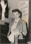 Judy Garland Authentic Vintage Signed Autographed Photo