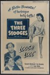 Loose Loot Three Stooges Original Vintage Movie Film Poster