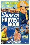 Shine On Harvest Moon Original Western Movie Poster Roy Rogers