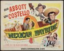 Abbott & Costello Mexican Hayride Half Sheet Movie Poster 1948