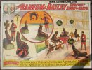 Old Circus Poster BARNUM & BAILEY WINSTON'S SEALS vintage 1911